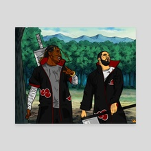 Them boys up to something.. - Canvas by Kiing Arthur