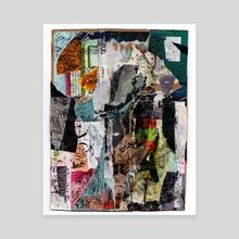 efflux - Canvas by allison anne