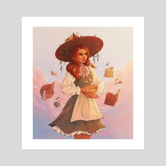 Kitchen Witch  by Brittnie Marcil