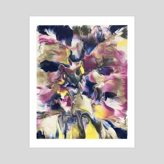 """""""Petals I"""" by Carla Minks"""
