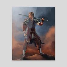 Anakin Skywalker, Knight of the Jedi - Acrylic by Jake Bartok