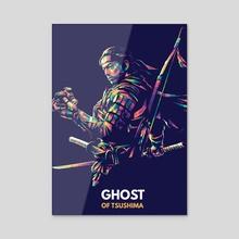 Ghost Of Tsushima - Acrylic by Robertus Krzto