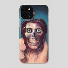 An Apple So Dark - Phone Case by M. C.  Matz