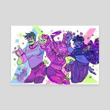 DANCE DANCE REVOLUTION - Canvas by RAD