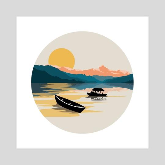 The Lake by Siddhant Rai