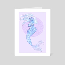 Mermaid - Art Card by Claudia ❤︎