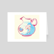 Duality Daiquiri Punch  - Art Card by James Brooks