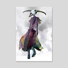 Fashion Postmortem: Fall - Acrylic by Rhiannon R-S
