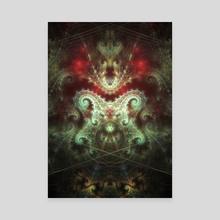 Serpent - Canvas by Marcel Hentschel