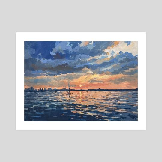 Lake Ontario (Toronto) by Jenny Xia