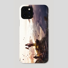 Journey's End - Phone Case by Julian Bauer