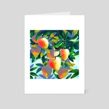 Summer Bunny No 12 - Art Card by Jelena Hallmann-Haeschke