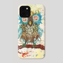 Owl - Phone Case by Andrew Ken Stewart