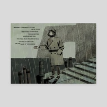 revachol rain - Canvas by lighthause