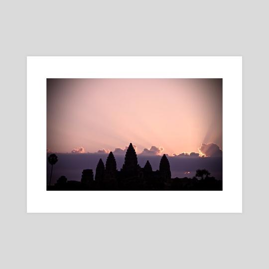 Angkor Sunrise by Jade Miller