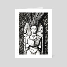 The Jewelry Designer - Art Card by Ernest Dziedzic