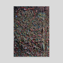 Gumwall - Canvas by Matt Boyle