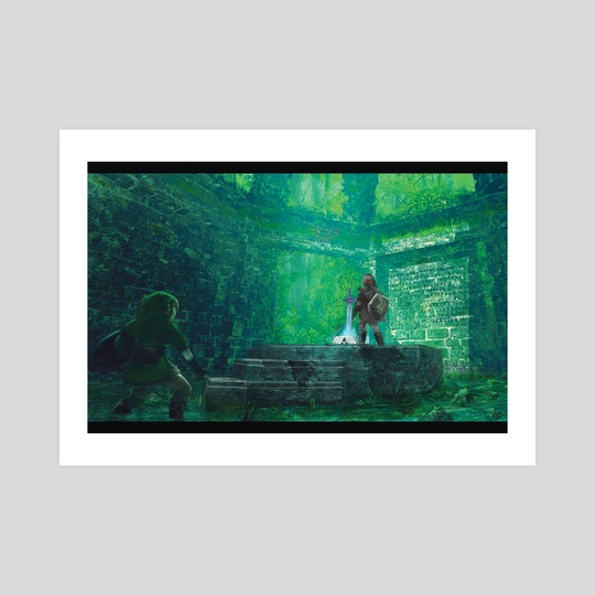 The Legend of Zelda by Derek Weselake