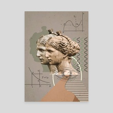 Greek makeover - Canvas by Simply  Graphic by M