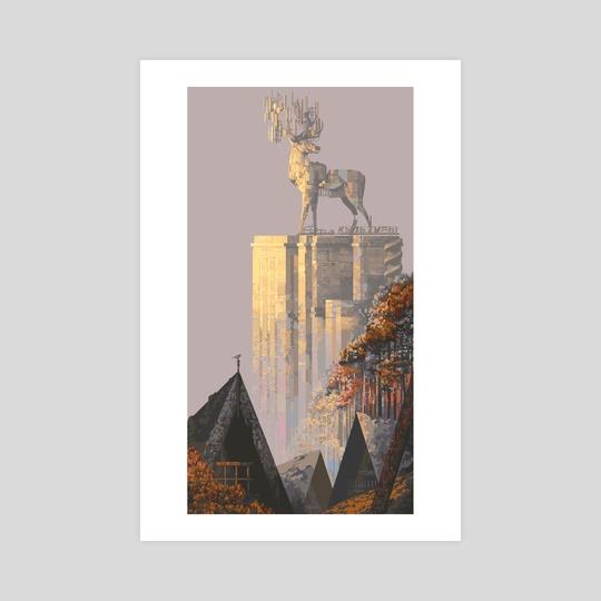 deer by 6VCR