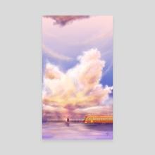 Sixth Station - Canvas by Kamilah Wong