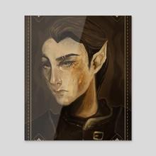 thief portrait - Acrylic by gaerss