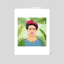 Frida  - Art Card by Nicole Clarizio