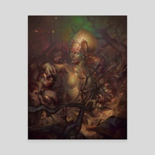 Women like her don't grow on trees - Canvas by Peter (Apterus) Polach