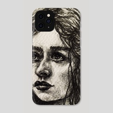 Gemini  - Phone Case by Sarah Mary Sketches