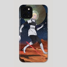 Sci-Fi Poster - Phone Case by Brady Gurley