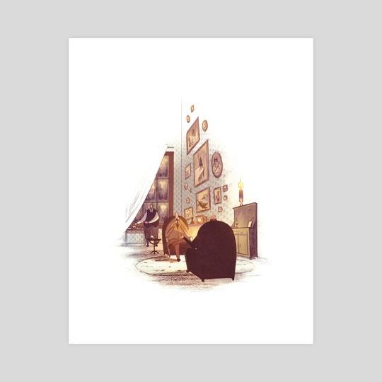 Sherlock Holmes - Baker St. by Ian Herring