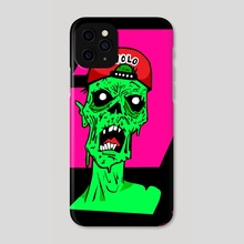 Outbreak (Day 26) (Color V.3) - Phone Case by Maverick Chavaria & Cecilia Salisbury