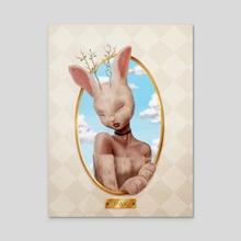 Pax - Acrylic by Luz Tapia