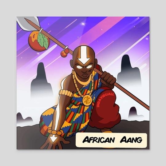 African Aang by David Asimeng