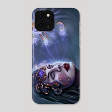 Drone of Clouds and Minds - Phone Case by Peter Dimitrov