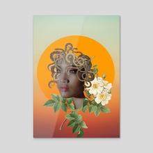 Medusa Divine - Acrylic by Annika Shinn