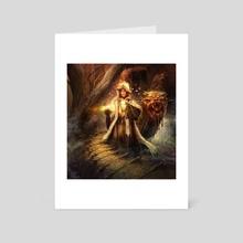 Wizard queen  - Art Card by Alexandrescu Paul