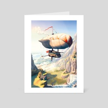 The Long Voyage - Art Card by Tom McGrath