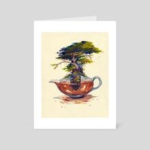 Blooming Tea - Art Card by Saint Vagrant