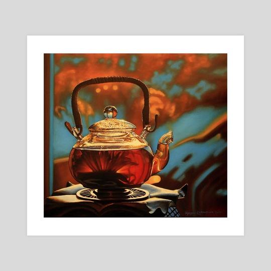 tea sunrise by Katerina Bukuros