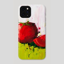 Plump Red Tomato - Phone Case by Eric Buchmann