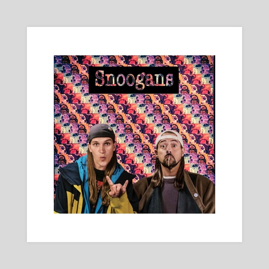 Snoogans - Under a Microscope - Jay and Silent Bob  by ArtofDas