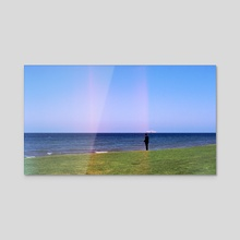 Philosophy - Acrylic by Benjamin Fauvel