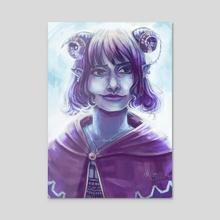 Critical Role - Jester Portrait - Acrylic by Milton Castro