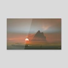 Opium Dream - Acrylic by Kuldar Leement