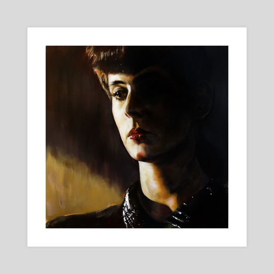 Rachel - Blade Runner (1982) by kevin mccall