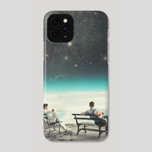 You were there, in my deepest Silence - Phone Case by Frank  Moth