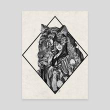 companion - Canvas by soojin mitton
