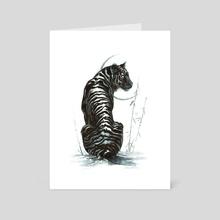 Tiger - Art Card by Sarah Hawkinson-Patil