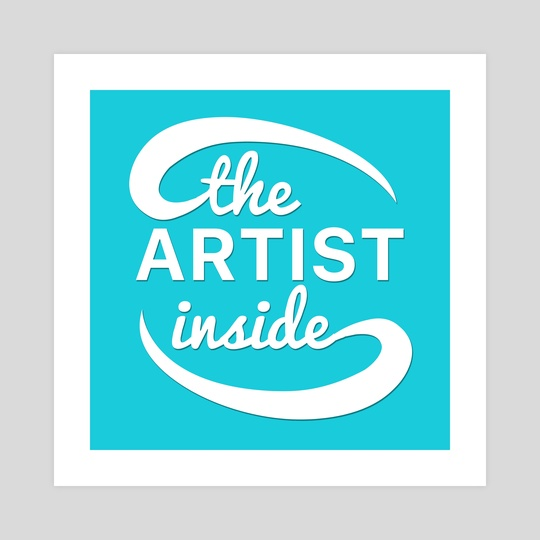 The Artist Inside Logo by Ethan Vuilleumier